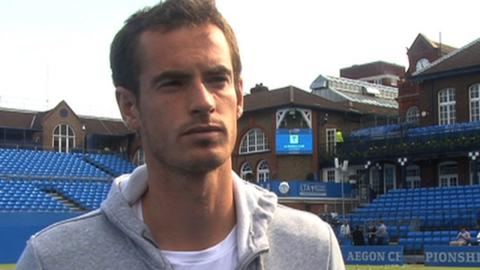 World number two Andy Murray