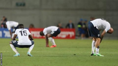 England Under-21s exit the European Championship