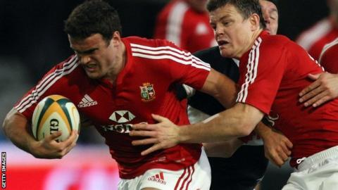 Brian O'Driscoll (right) and Jamie Roberts
