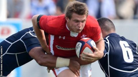 Dan Biggar takes on Japan in their first 2013 Test