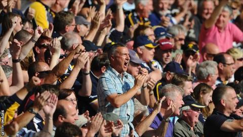 Worcester fans