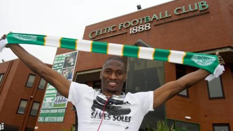 Celtic transfer target Amido Balde