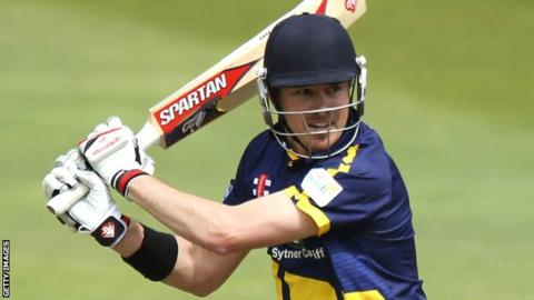Marcus North in action for Glamorgan