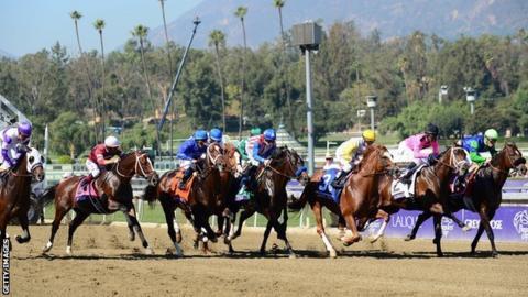Breeders' Cup at Santa Anita