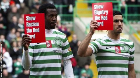 Scottish clubs campaign against racism and bigotry