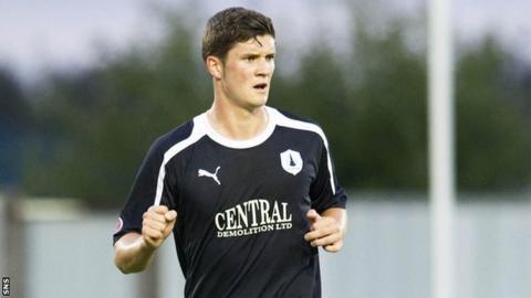 Falkirk midfielder Stewart Murdoch