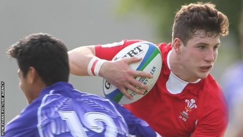 Owen Jenkins takes on Samoa U20