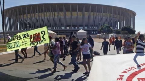 Protests in Brasilia