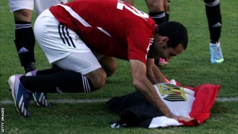 Egypt playmaker Mohamed Aboutrika