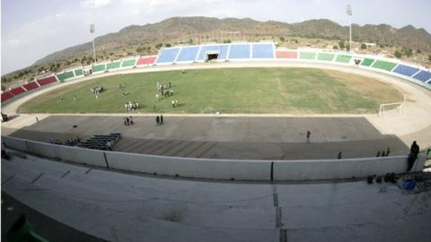 The Kadugli Stadium in South Kordofan