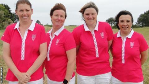 Jersey women's golf team