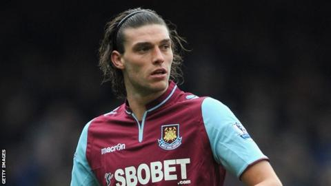 West Ham target Andy Carroll