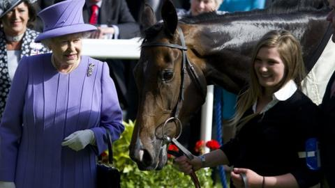 The Queen and horse Estimate