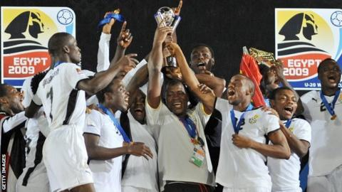 Ghana win 2009 Under-20 World Cup