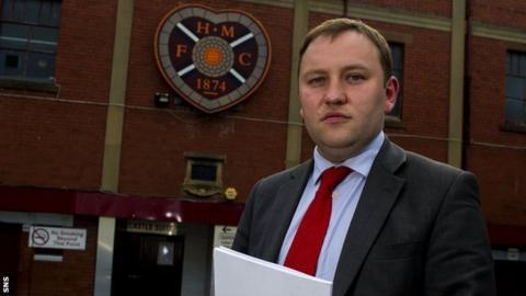 Foundation of Hearts chairman Ian Murray