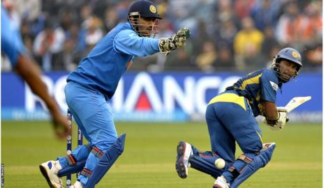India beat Sri Lanka by eight wickets to set up a Champions Trophy final with England