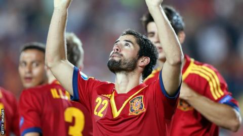 Malaga's Spain Under-21 star Isco