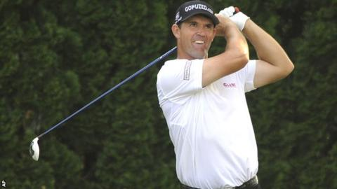 Padraig Harrington in action in Connecticut
