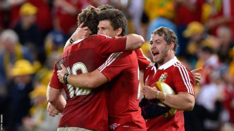 Lions celebrate