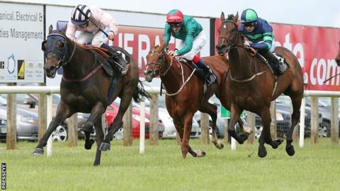 Sir Ector leads the field home at Down Royal