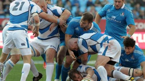 Scotland were 30-29 winners against Italy in Pretoria