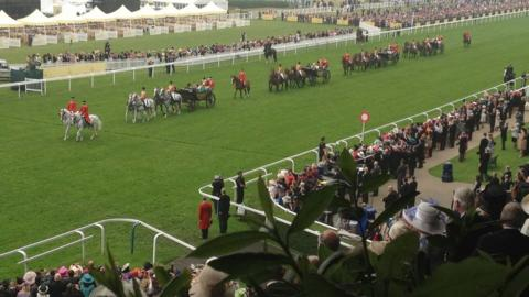 Royal Ascot procession