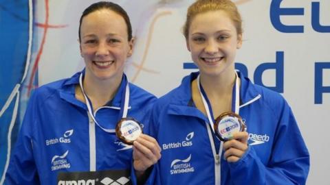 Rebecca Gallantree and Alicia Blagg