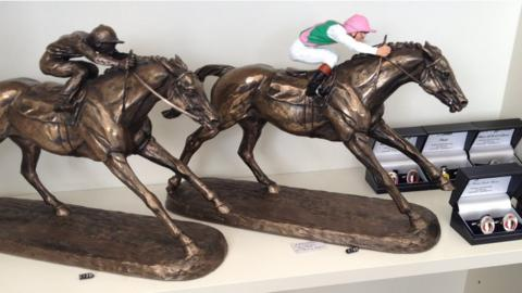 Frankel bronzes for sale in the Ascot Shop