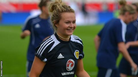 New Glasgow City signing Emily Thomson