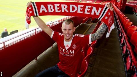 New Aberdeen signing Gregg Wylde