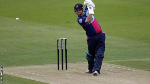 Middlesex batsman Paul Stirling