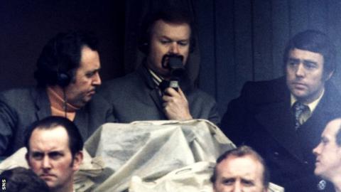 Commentator Archie MacPherson