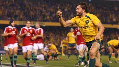 Australia v Lions