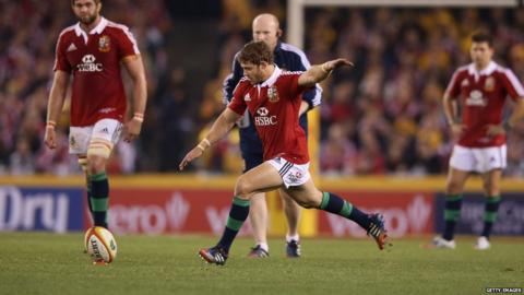 Australia v British Lions second Test Leigh Halfpenny