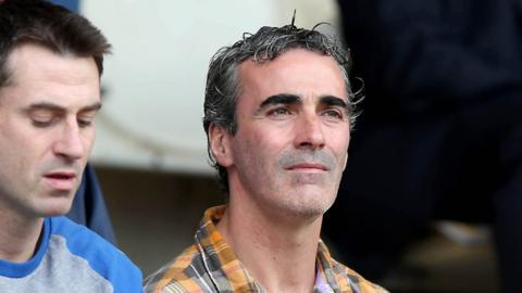 Donegal assistant boss Rory Gallagher and manager Jim McGuinness were at Clones to see who the Ulster and All-Ireland champions would meet in the decider