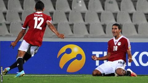 Egypt's Hassan Ahmed