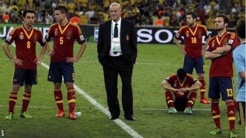 Spain players