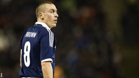 Scotland international Scott Brown