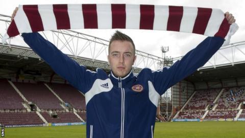 New Hearts captain Danny Wilson