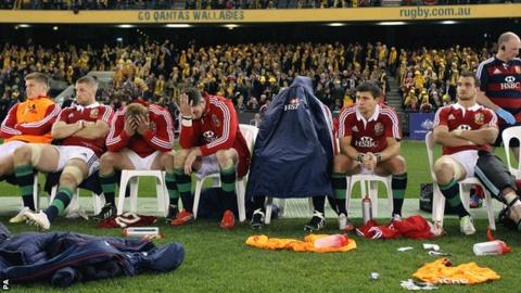 Lions glum in second Test