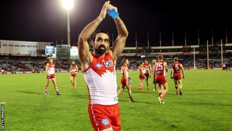 Adam Goodes will star in AFL's international rules team in Ireland