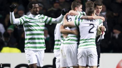 Celtic reached the last 16 of the Champions League last season