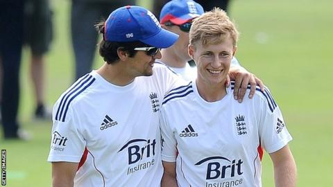 Alastair Cook & Joe Root