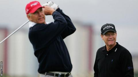 Andy North and Tom Watson