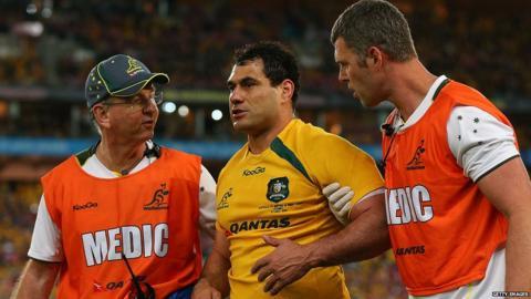 Australia v British and Irish Lions third Test George Smith