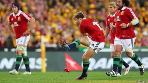 Australia v British and Irish Lions third Test Leigh Halfpenny