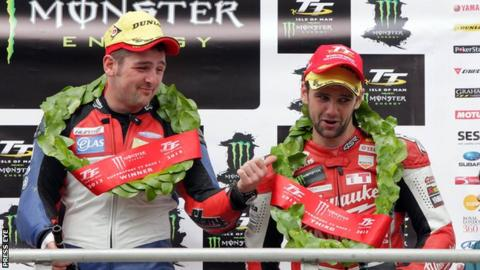 Michael and William Dunlop