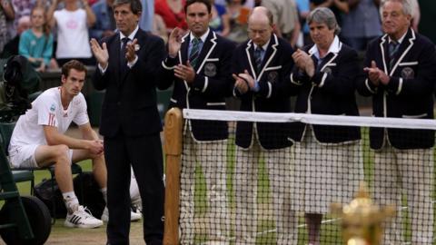Andy Murray loses at Wimbledon