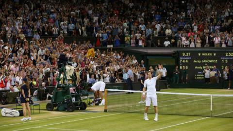 Murray reaches second Wimbledon final