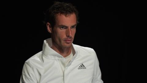 Wimbledon finalist Andy Murray